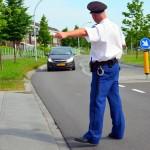Stadshagen let op - lasergun snelheidscontrole (103)