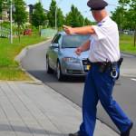 Stadshagen let op - lasergun snelheidscontrole (106)