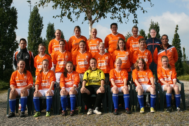 Website CSV Dames 1 compleet 2014-2015