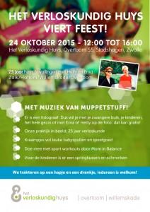 25 jaar Verloskundig Huys, jubileum op zaterdag 24 oktober