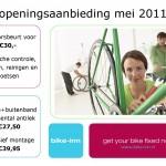 Openingsaanbieding Bike-inn Stadshagen Zwolle