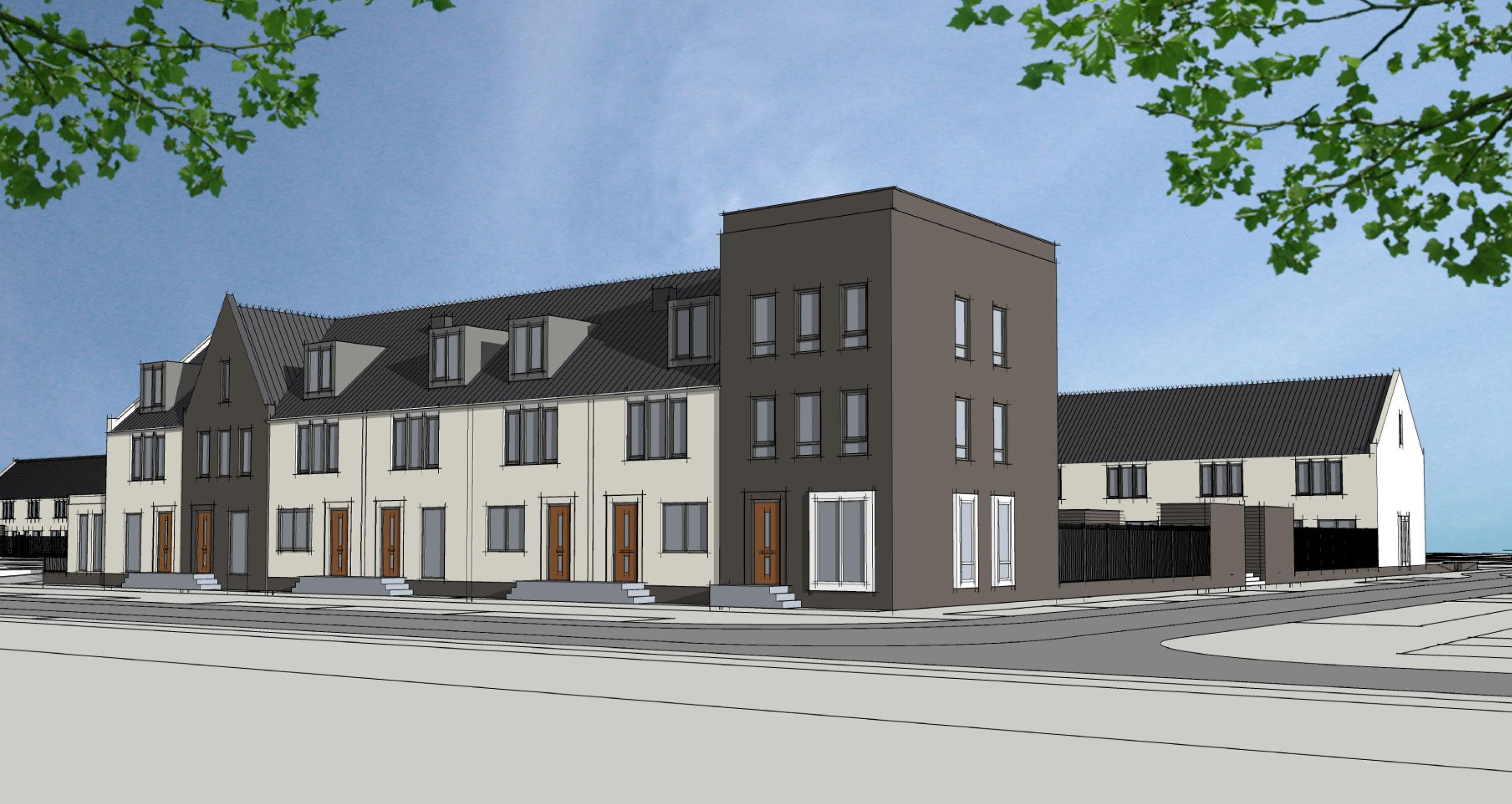 Start bouw sociale huurwoningen breecamp oost for Huurwoningen