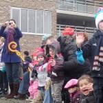Sinterklaas kreeg een enthousiast welkom