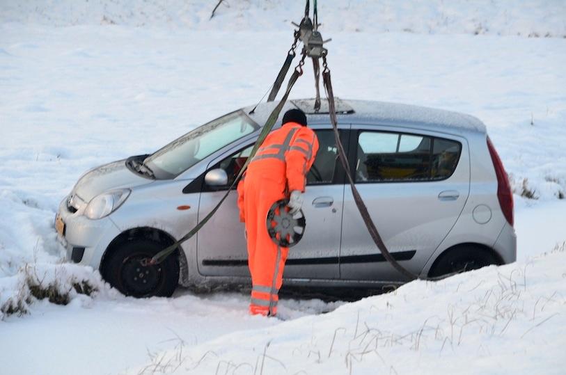 ongelukken door sneeuw