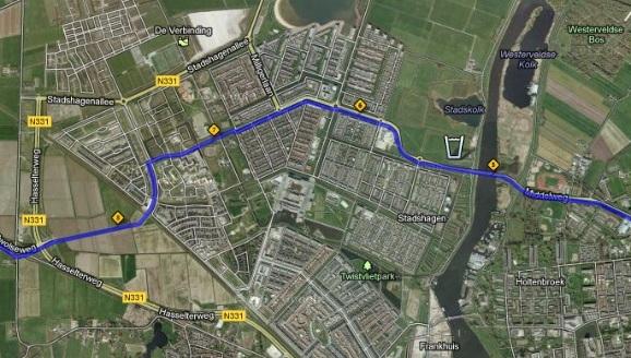 parcours marathon zwolle1