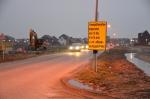 Havezathenallee weer op slot voor verkeer