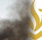 Indringende rooklucht boven Stadshagen