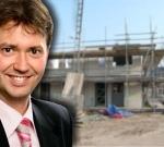 """Kamerlid van Hijum: """"Bouw krijgt gevoelige klap""""."""