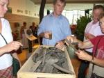 Oeroude erfenis uit fossiel hout in Culthuurhuis
