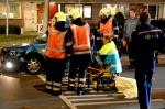 Gewonde bij ongeval Klokkengieterlaan (foto's)