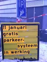 Sluiproute in parkeergarage geblokkeerd