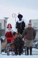Sinterklaas op bezoek bij OBS De Krullevaar (foto's)