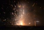 Vuurwerkshow in Stadshagen (video)