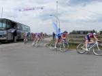 Wielerwedstrijd in Stadshagen van start