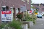 Jungle aan onverkochte woningen Stadshagen