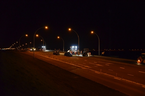 Eindelijk nieuw asfalt slechte wegen (foto's)
