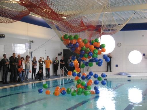 Zwembad Bubbels officieel geopend