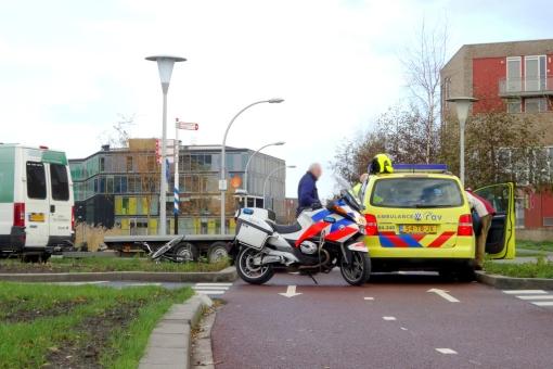 Alweer aanrijding op fietsoversteek Belvédèrelaan