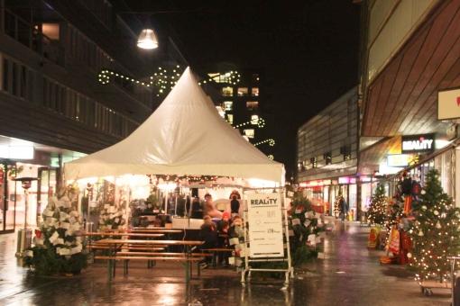 Christmas Village in winkelcentrum Stadshagen (foto's)