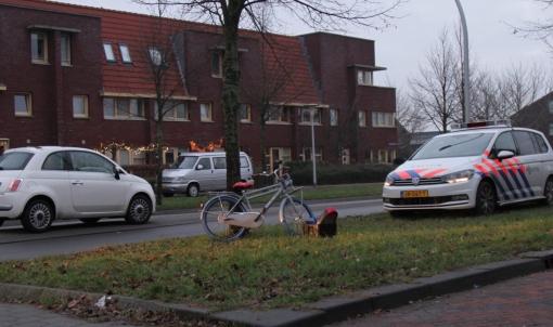 Jonge fietser aangereden op Frankhuizerallee