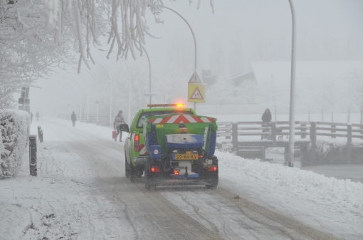 Winterse schoonheid in Stadshagen
