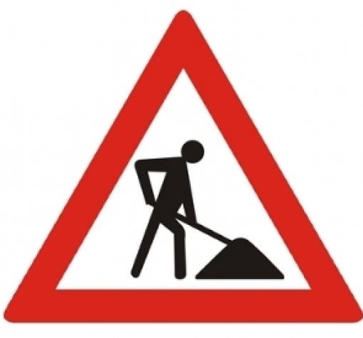 Nieuw asfalt voor rotonde Milligerlaan