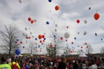 Duizend ballonnen de lucht in (foto's)