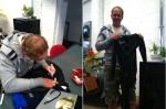 Veiling schaatspak Rintje Ritsma voor goed doel
