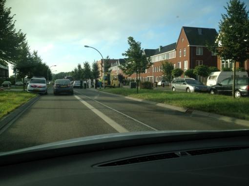 Veel schade bij aanrijding Frankhuizerallee