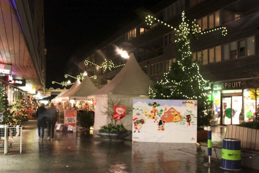 Vrijdag en zaterdag Winter Wonderland in winkelcentrum Stadshagen