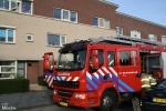 Brandweer rukt uit om verbrand stopcontact