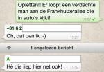 Peiling: Whatsapp-groep Stadshagen tegen verdachte zaken?