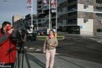 TV-opnames Hart van Nederland bij fietsoversteek Belvédèrelaan (update)