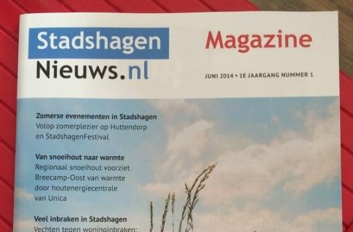 StadshagenNieuws viert 5-jarig jubileum met eigen magazine