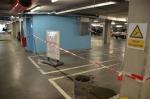 Scheuren en lekkage in parkeergarage Stadshagen