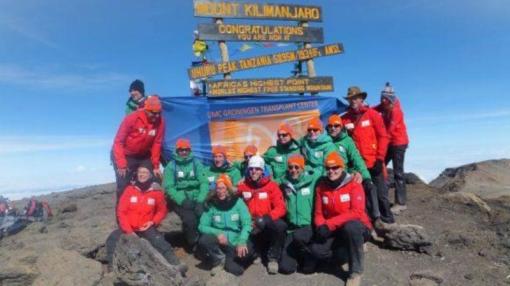 Stadshaagse met donororgaan beklimt Kilimanjaro
