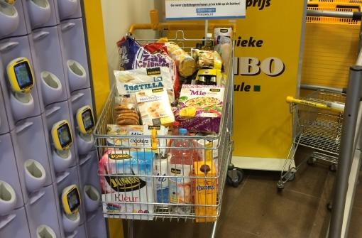 Win winkelwagen vol boodschappen bij Jumbo