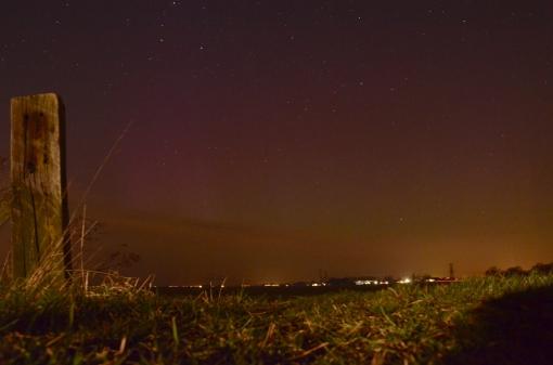 Noorderlicht gezien vanuit Stadshagen