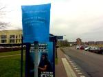 Buschauffeurs voeren actie in Stadshagen