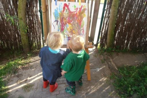 Vijf jaar kinderdagverblijf Het Frankhuisje