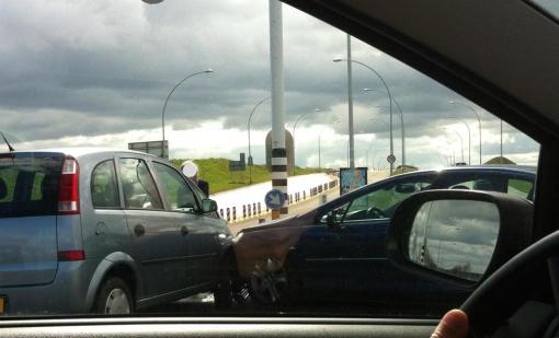 Voor de derde maal in week ongeval Hasselterweg
