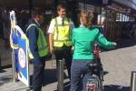 Studenten dragen bij aan fietsvrij winkelcentrum