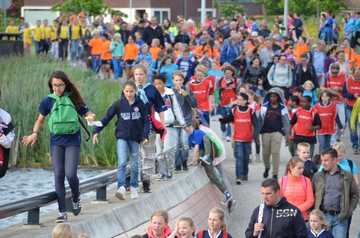 Superstart Vierdaagse Zwolle in Stadshagen