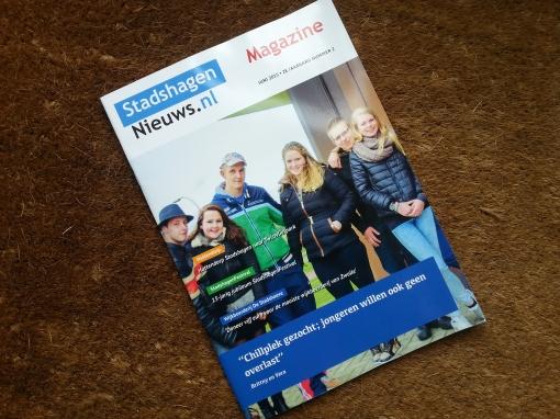 Nieuwe editie StadshagenNieuws Magazine op de mat