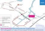 Komend weekend afsluiting kruispunt Westenholterallee – Frankhuizerallee