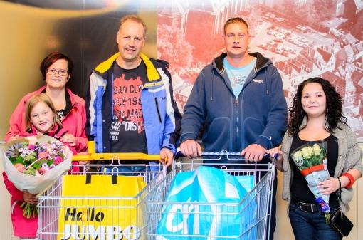 Winnaars Stadshagenfestival shoppen één minuut gratis
