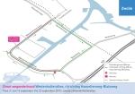 Wegwerkzaamheden Westenholterallee op rijrichting Hasselterweg – Blaloweg