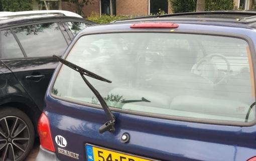 Vandalen vernielen auto's aan Mannagras