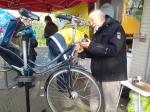 Gratis reparatie fietsverlichting voor inwoners Stadshagen