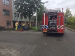 Brand in container Knopenmakerstraat